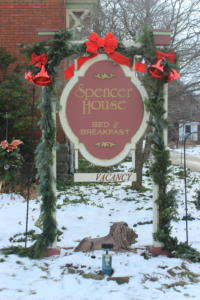 Spencer House Sign
